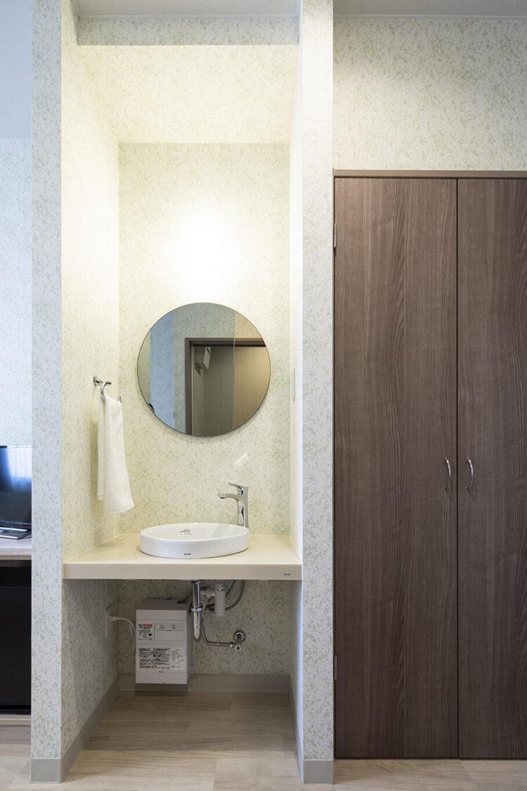 ヒルズレディースクリニックのトイレなし一般病室