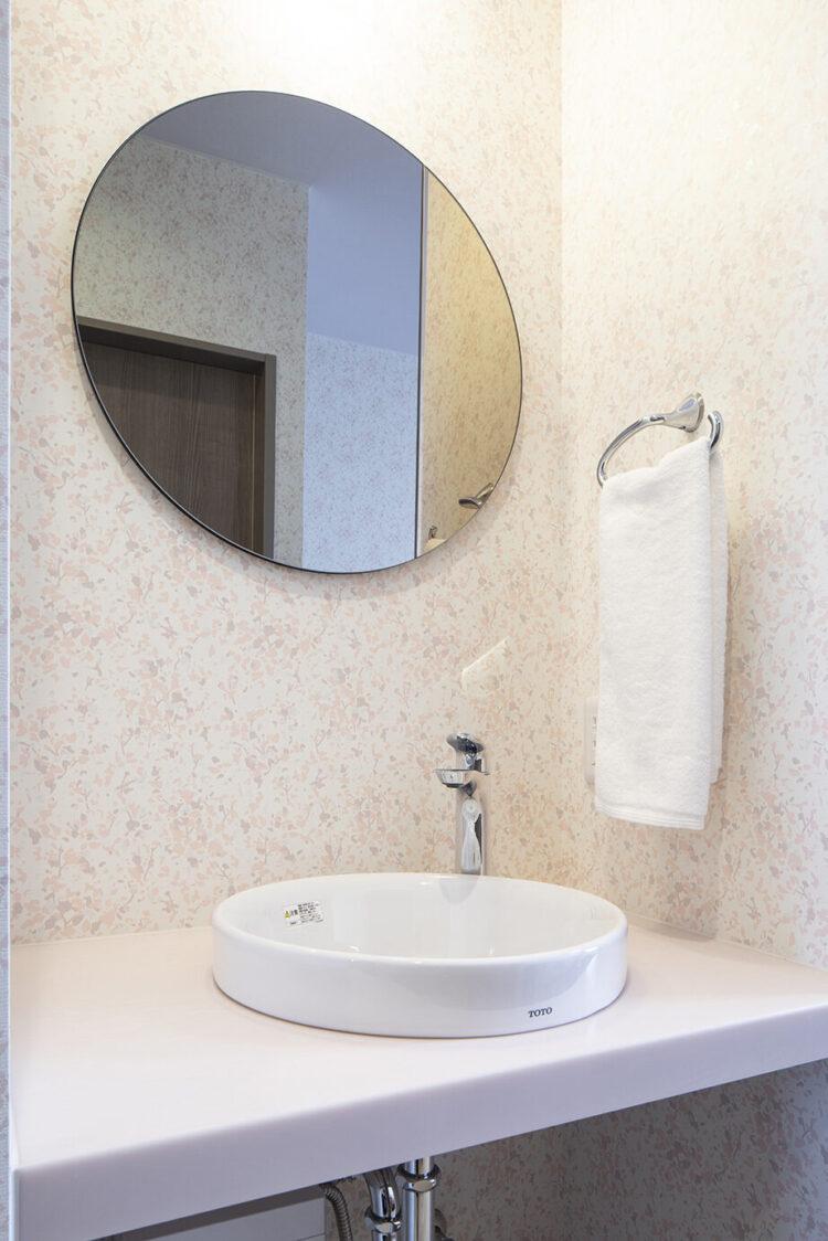 ヒルズレディースクリニックの一般病室(トイレ付き)畳あり